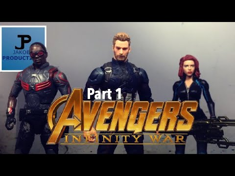 Avengers: Infinity War [Part 1] (Stop Motion Film Series)