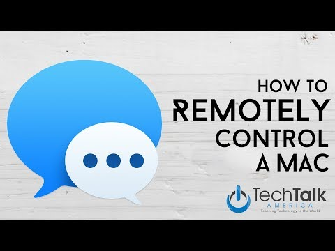How to Remote Control A Mac with Messages