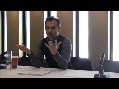 Svyatoslav Vakarchuk at Fordham University, NYC,  November 20,2015
