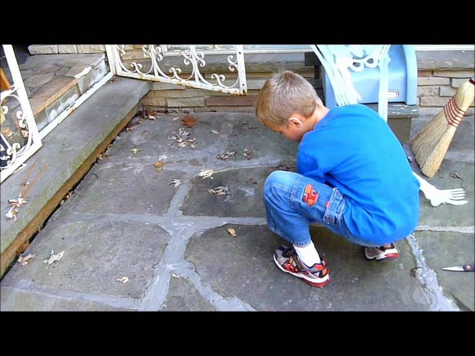 James Repairs Flagstone/ Fieldstone Mortar   Techno Style! So Simple A  Child Can Do It!   YouTube