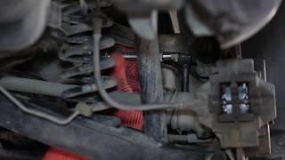 Wymiana Drążek wspornik stabilizator MERCEDES-BENZ C-CLASS: instrukcja napraw