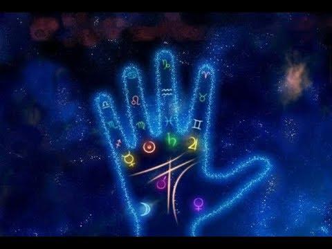 Знаки судьбы о способностях к магии  на ладонях рук.