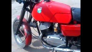 Двигатель Ява 350/634(632) (Тест 06.05.2016) после кап ремонта. 1 часть.(Двигатель Ява 350/634 (632) (Тест 06.05.16) после капитального ремонта. Мотоцикл является стендом для испытания мото..., 2016-05-06T22:02:25.000Z)