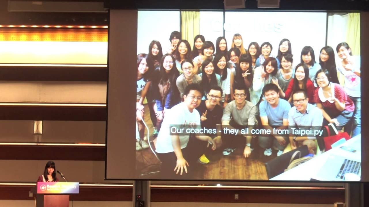Image from The stories about Django Girls Taipei