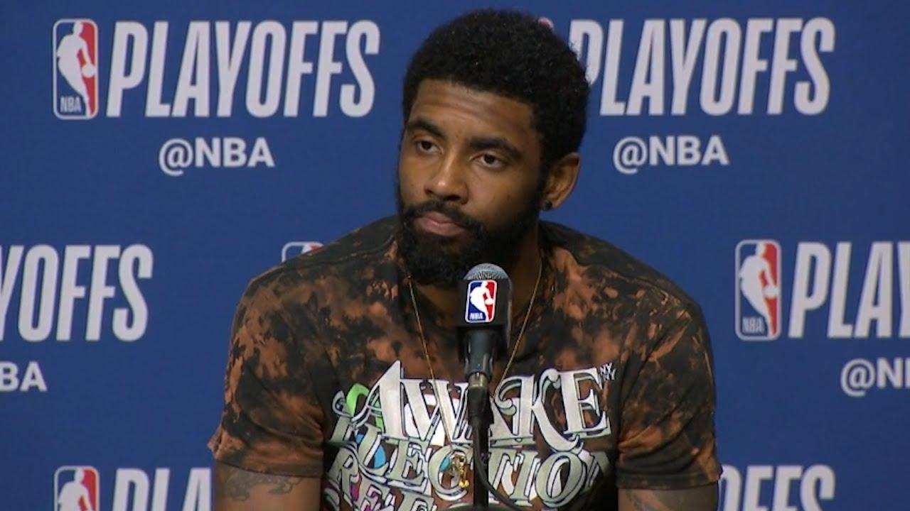 Kyrie Irving Postgame Interview - Game 4 | Bucks vs Celtics