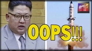 OOPS! After Lil'Kim Presses the Button his Rocket hits Unintended Target