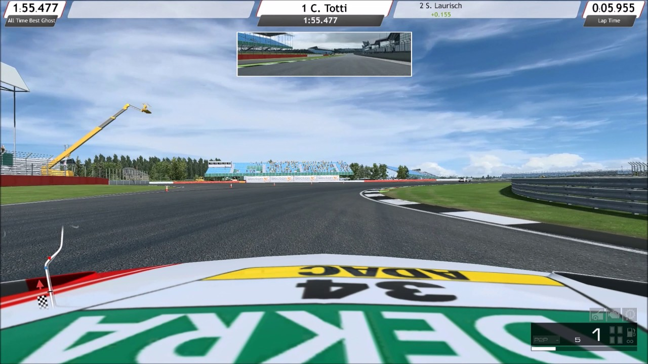 Circuito De Silverstone : Race room racing circuito de silverstone mercedes benz amg c63
