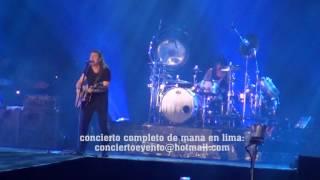 mana en lima 2016 - concierto