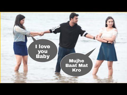 Flirting With🔥Hot Girls Prank In Mumbai