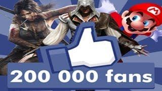 Gaming live - 200 000 Fans jvcom