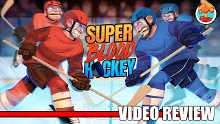 Review: Super Blood Hockey (PlayStation 4, Switch & Xbox One) - Defunct Games
