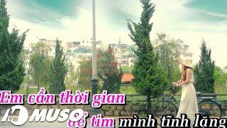 Mau Nước Mắt |  Bảo Thy (KARAOKE Version )  | Hồng Ân Music