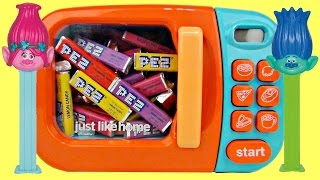 Magical Microwave PEZ Candies with Trolls Poppy & Branch | Toys Unlimited