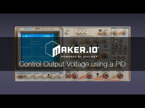 How to Control Output Voltage using a PID