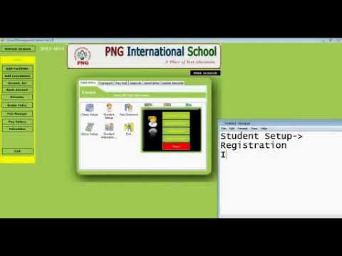 School Management System In C Youtube