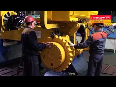 Russian Bulldozer Manufacturer Making The Grade