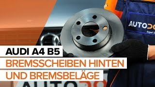 Wartung Audi A4 b7 - Video-Leitfaden