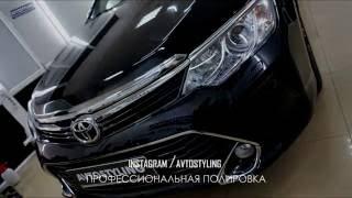Антигравийная защита на Toyota Camry 55(Всем привет. 1. Антигравийная защита