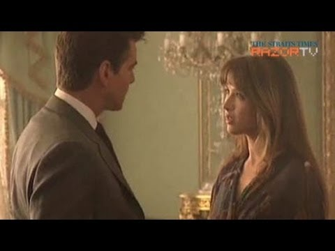 French cinema for older actresses (Sophie Marceau press-con Pt 3)