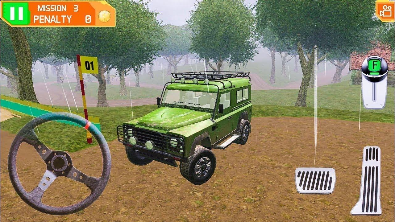 Entretener apetito predicción  Juegos de Carros 4x4 Para Niños - Manejo de Jeep Fuera de Camino - YouTube