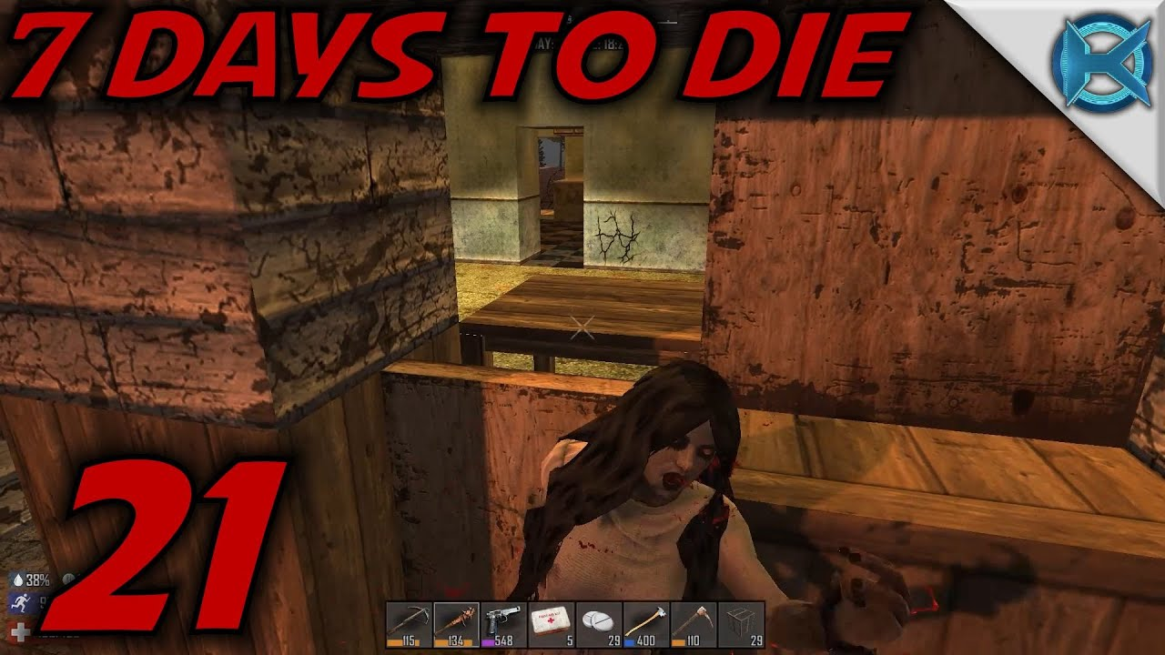 7 days to die ep 21 screamer horde 7 days to die gameplay let 39 s play alpha 13 6 s13 6. Black Bedroom Furniture Sets. Home Design Ideas
