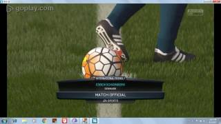 Fifa 16 gameplay on HD Graphics 4000