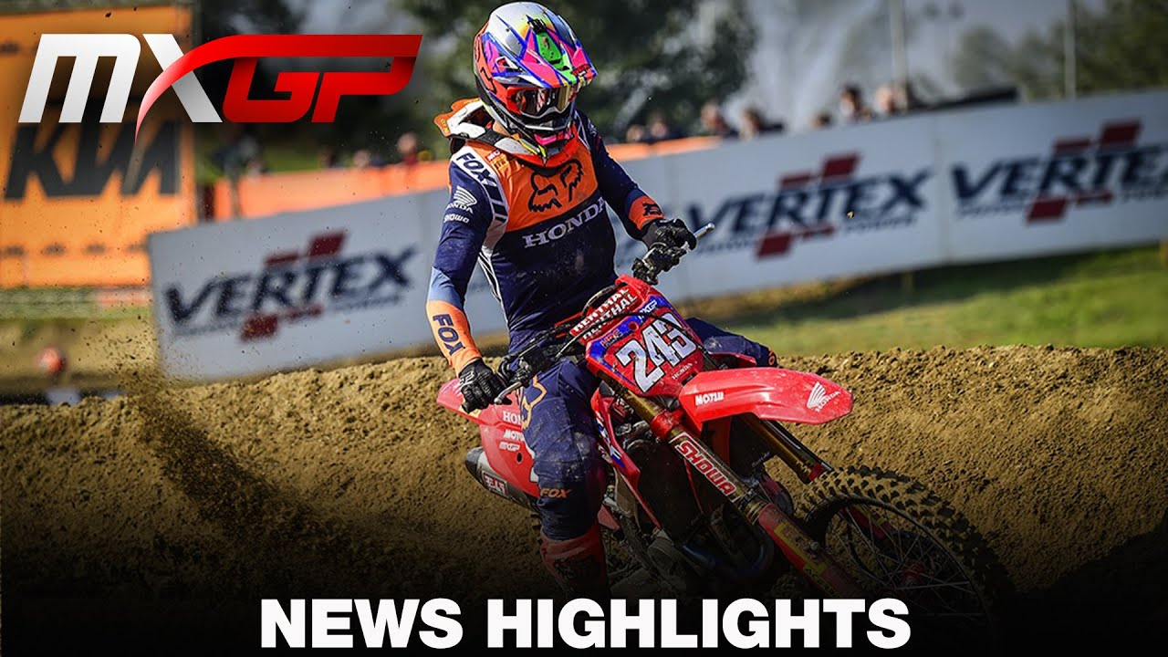 MXGP of Europe Video Highlights!