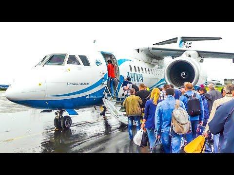 TRIPREPORT • Angara Airlines AN-148 | Irkutsk (IKT) - Novosibirsk (OVB) | Economy