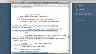 Displaying the HTML Code of a Photo in Tumblr : Web Design & WordPress