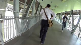 バンコク エアポートレールリンク ペッチャブリ駅~マッカサン駅乗り換え 2019年8月14日