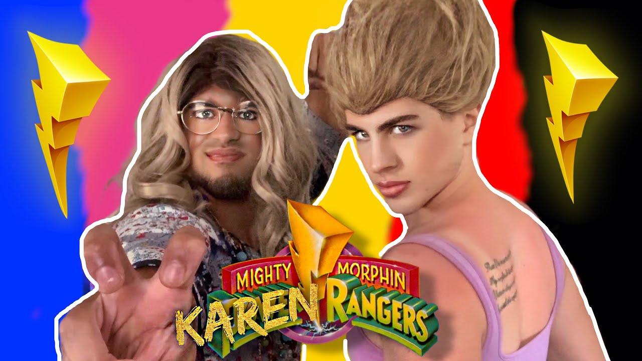 Mighty Morphin KAREN RANGERS