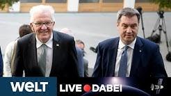 CORONAVIRUS IN SÜDDEUTSCHLAND: So wollen Söder und Kretschmann Corona bekämpfen