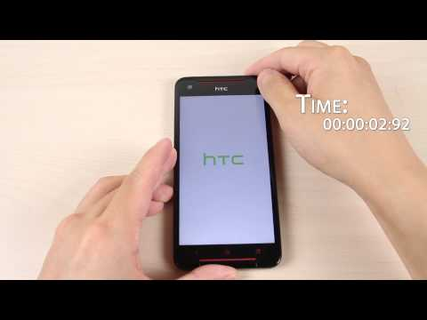 HTC Butterfly S boot up time