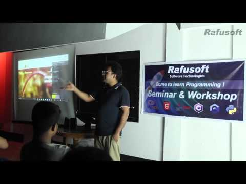 Digital Bangladesh in Dinajpur - Learn programming seminar by rafusoft
