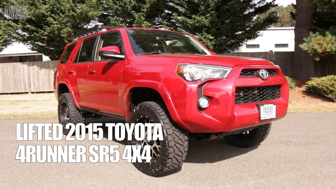 lifted 2015 toyota 4runner sr5 4x4 youtube. Black Bedroom Furniture Sets. Home Design Ideas
