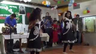 Bangla Dance   Medley   Bajare Dhol Tora and Jole Utho Bangladesh   Arfin Rumey