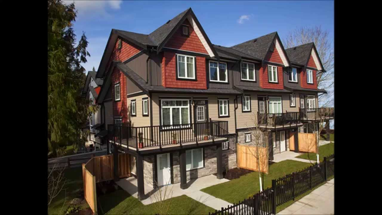 surrey bc townhomes townhouses for sale redwood townhomes youtube