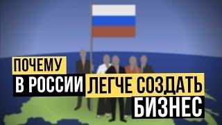 Почему в России создать бизнес проще чем в Европе или в США? Как открыть бизнес? Наталия Закхайм