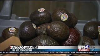 FDA: Avocado warning