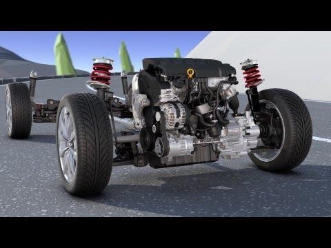 VW Golf 7 4MOTION - Animation Technology