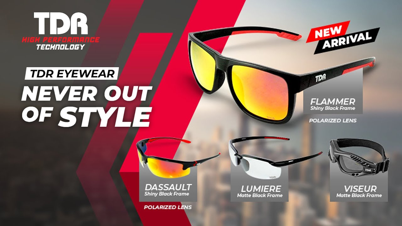 TDR #Eyewear - Never Out Of Style