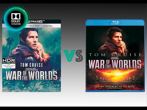 ▶ Comparison Of War Of The Worlds 4K (4K DI) Dolby Vision Vs Regular Version