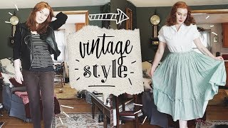 Vintage Style: How to Start? || Where to Shop, Hair/Makeup, Etc!