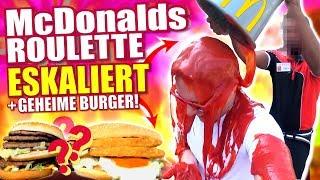 McDonalds PRANK FAIL - MITARBEITER ESKALIERT & GEHEIME BURGER - McDonalds Roulette