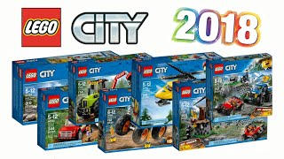 LEGO City 2018 set pictures