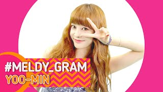 MELDY_GRAM(멜디그램] #YOOMIN(유민) _ MelodyDay(멜로디데이) [ENG/JPN/CHN SUB] *English & Japanese & Chinese subtitles are now available.