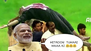 MODI FITNESS CHALLENGE || AND FITNESS SECRET FUNNY DUBBED VIDEO
