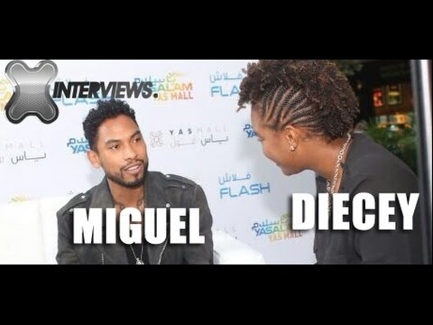 Miguel Interview With Sadiece | The FLEX