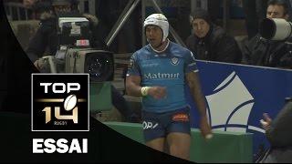 TOP 14 ‐ Essai 1 David SMITH (CAS) – Castres - Paris – J21 – Saison 2016/2017