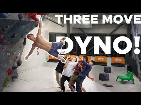 THREE MOVE DYNO! || SCHOOLED BY MAGNUS MIDTBØ